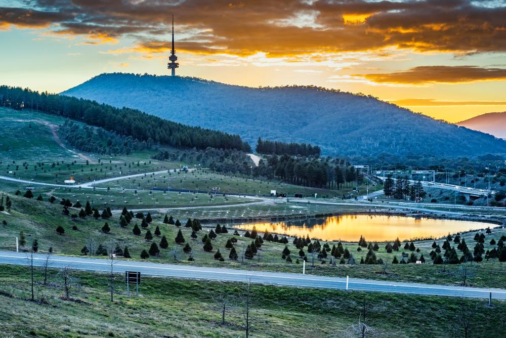 National Arboretum in Canberra