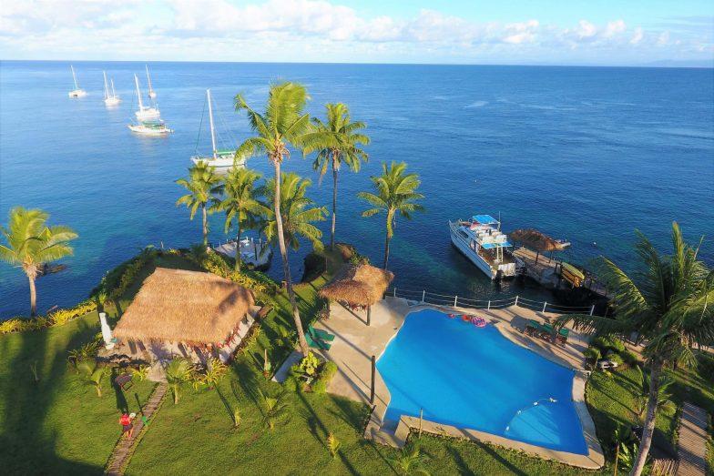 The pool at Paradise Taveuni - Fiji's most family-friendly resorts