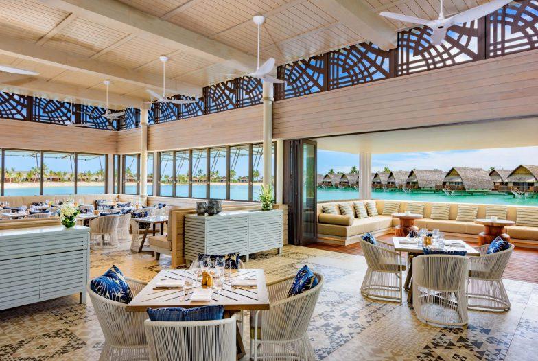 Lagoon House Restaurant at Fiji Marriott Momi Bay is one of the Family-friendly Resorts in Fiji