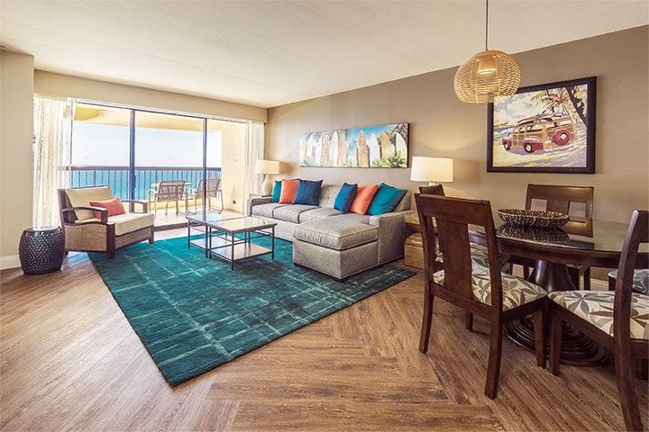 oceanfront apartment at waikiki beach tower