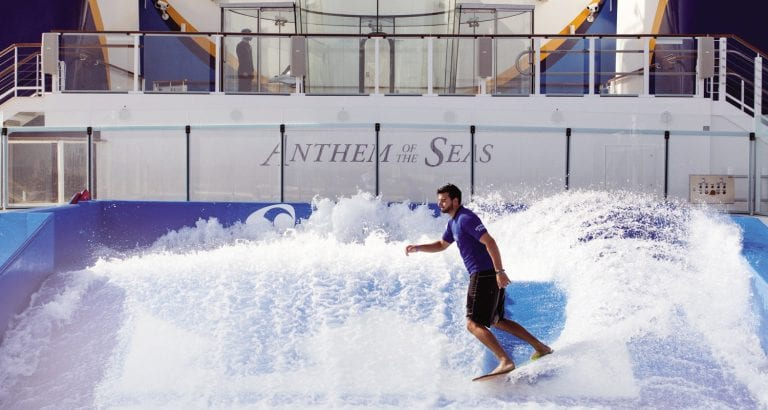 FEATURE Ride the FlowRider on Royal Caribbean ships
