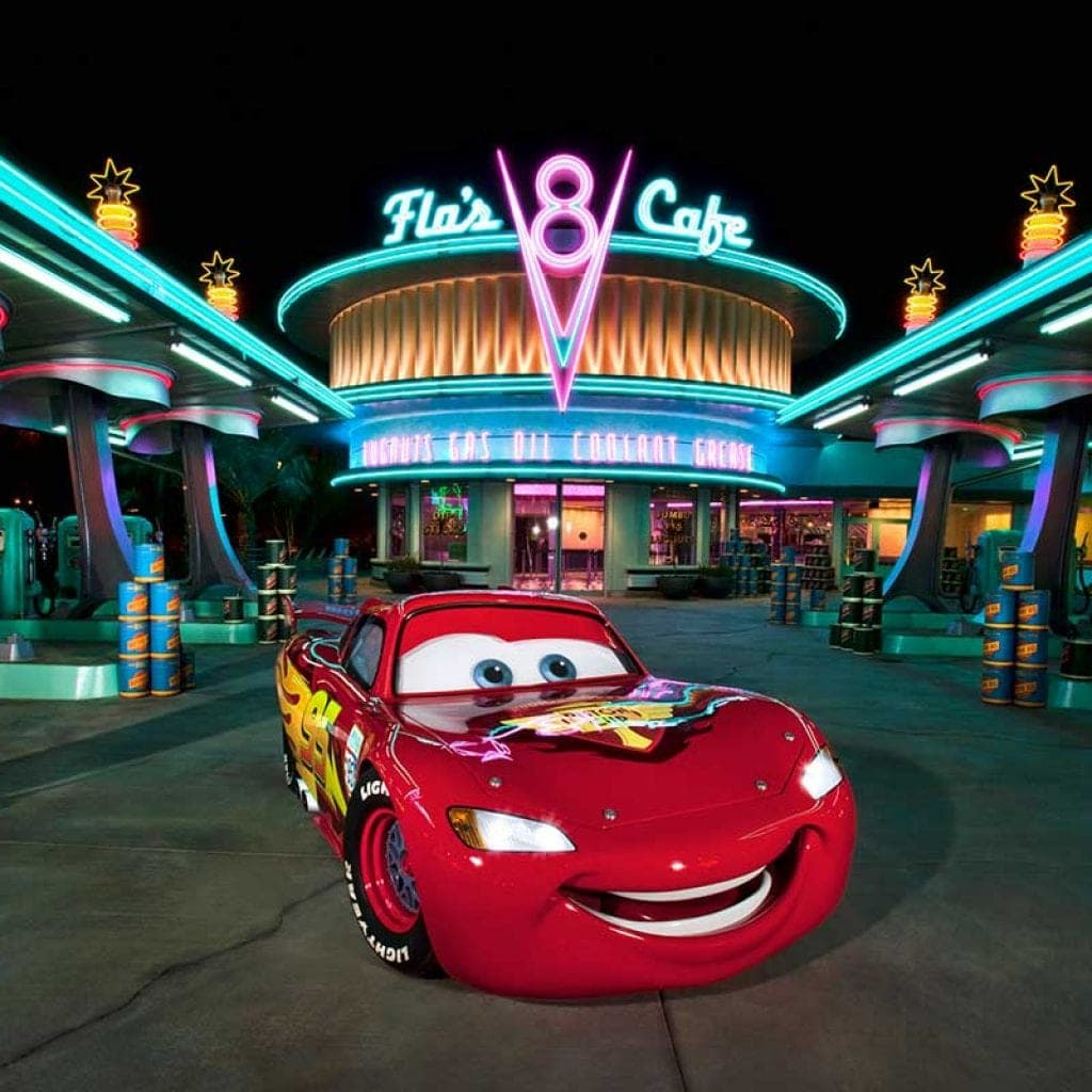 Lightning McQueen from The Cars