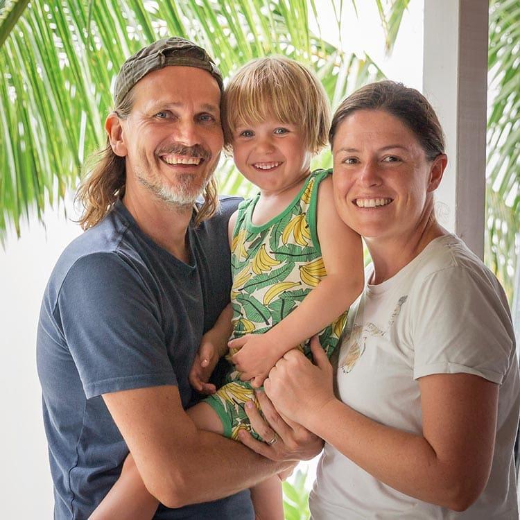 Shaney Hudson The family at Charlies