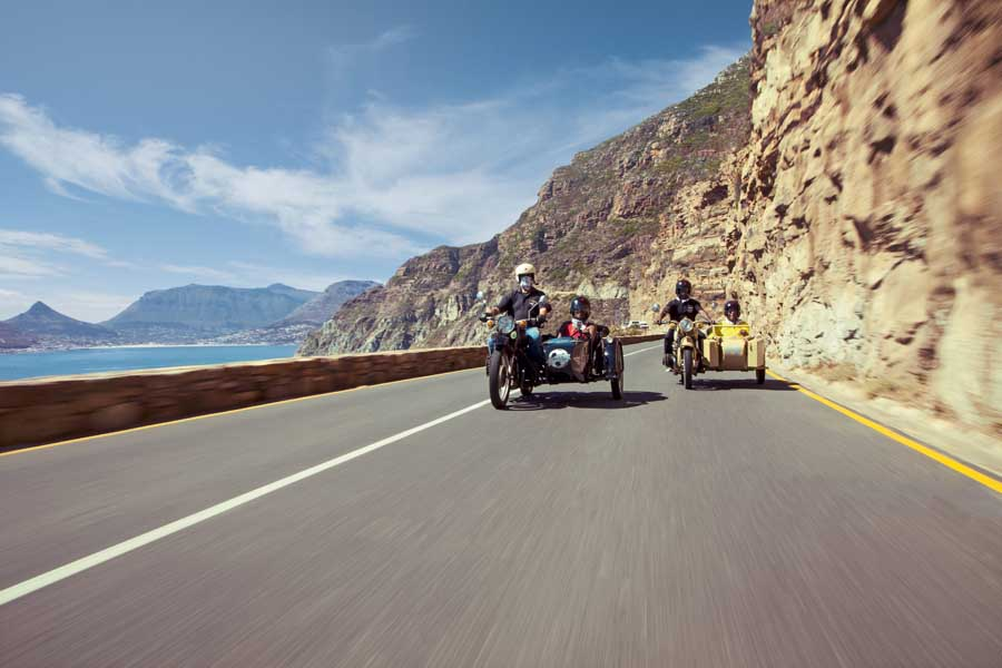 a side car tour in cape town