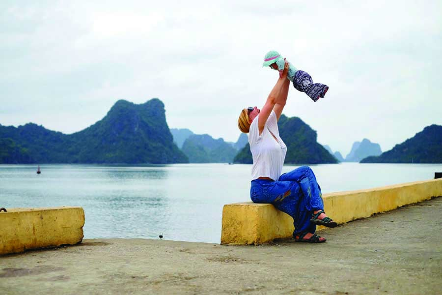 joyful times on cat ba island. image kyle rodriguez