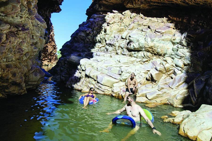 redbank gorge. image tourism nt shaana mcnaught