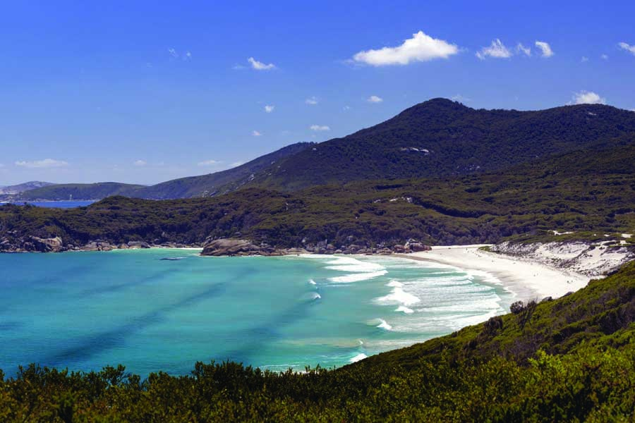 squeaky beach in wilsons promontory national park. image visit victoria