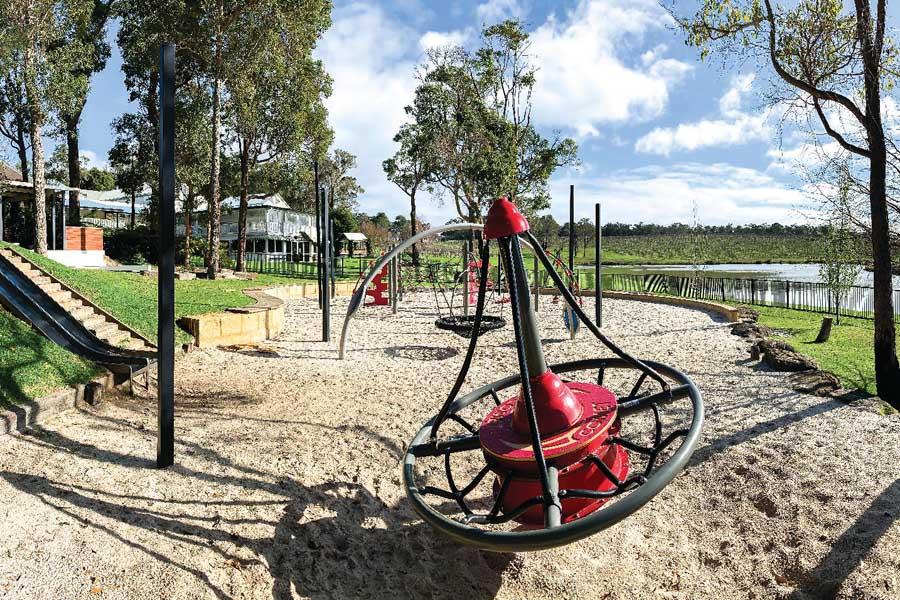 the playground at aravina estate