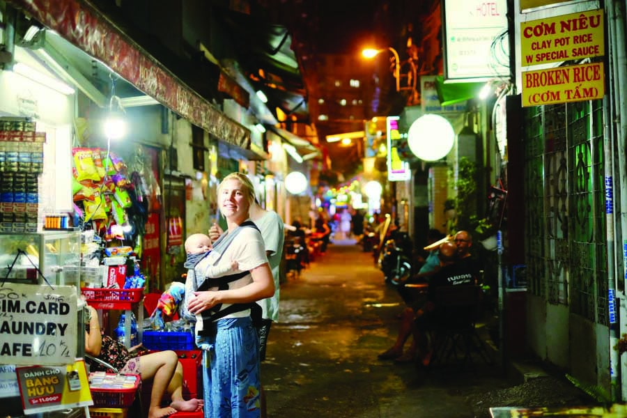 exploring ho chi minh city at night. image kyle rodriguez