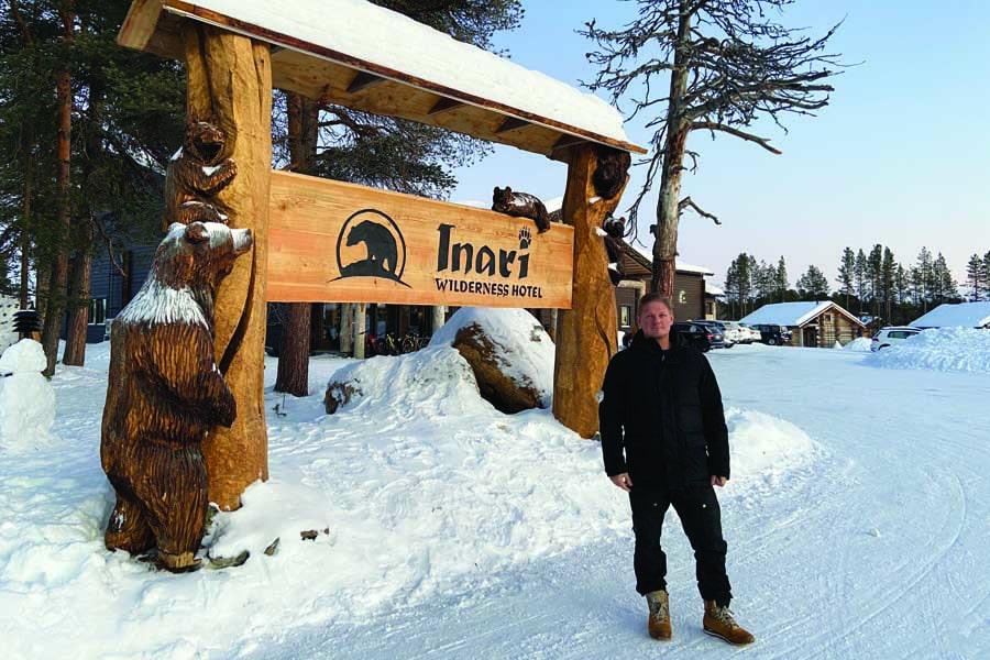 inari wilderness hotel owner jouko lappalainen