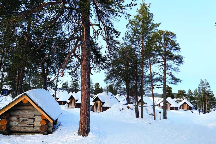 stay in a charming inari cabin
