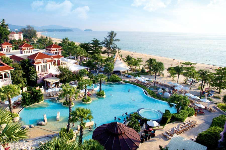 centara grand beach resort phuket thailand