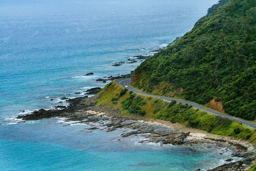 drive the great ocean road image visit victoria