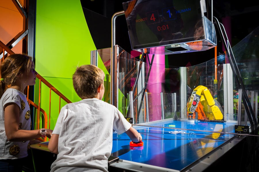 learn about science in a fun way at questacon canberra