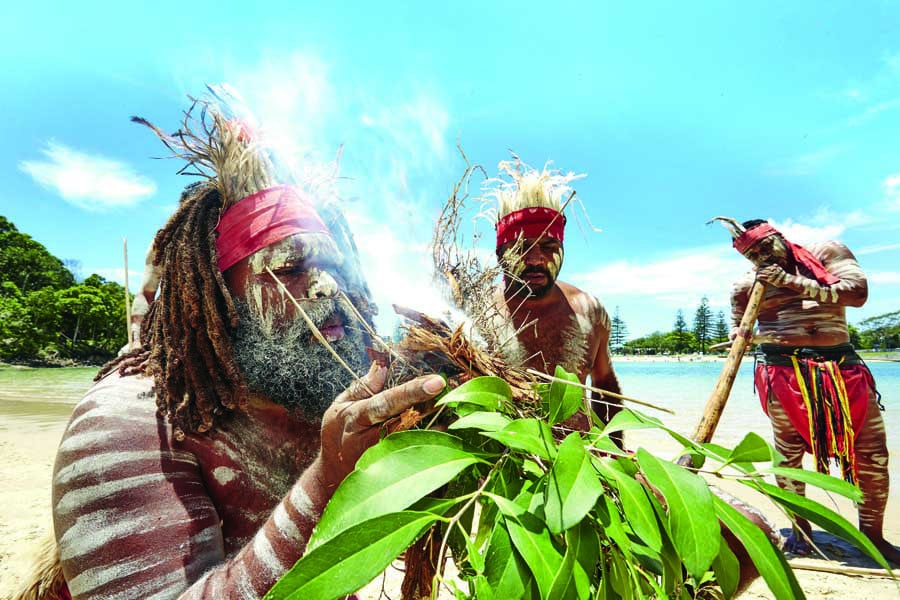 discover indigenous culture with jellurgal. image tourism and events queensland