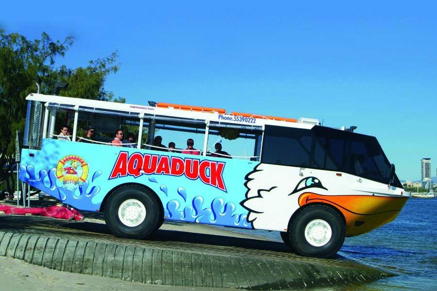 explore the gold coast with aquaduck