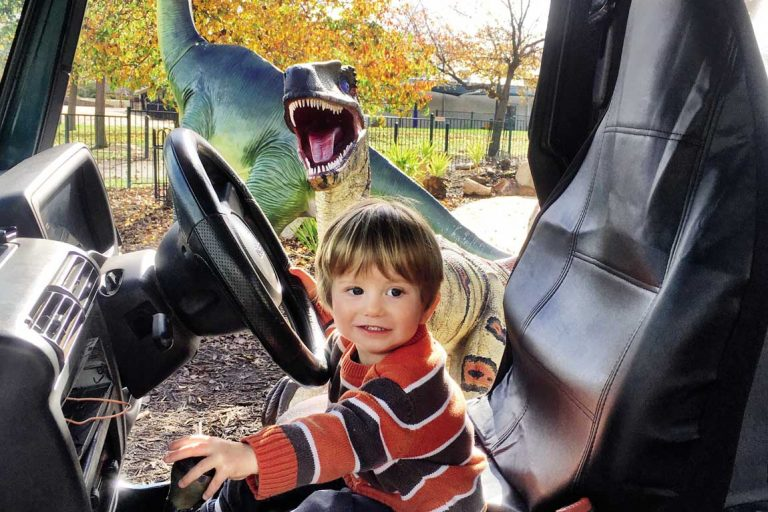 feature lets get out of here mummy oliver loved playing in the jeep at the national dinosaur museum