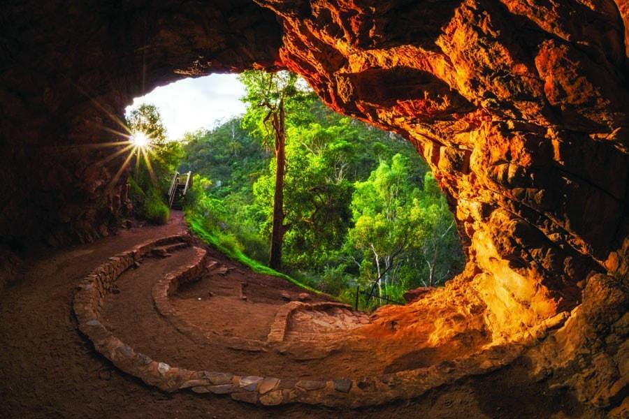 morialta conservation park in south australia. image joel durbridge