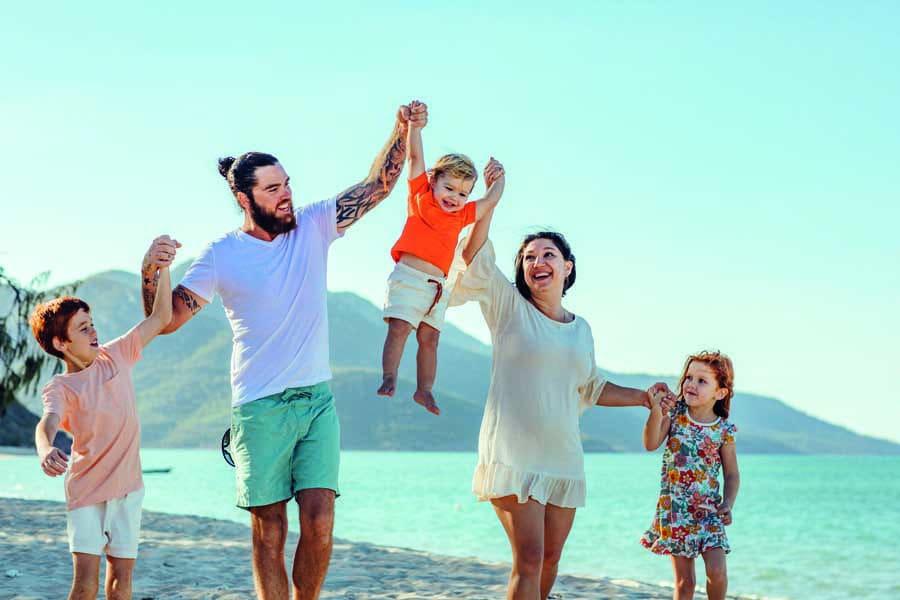 tash and her family love exploring the whitsundays