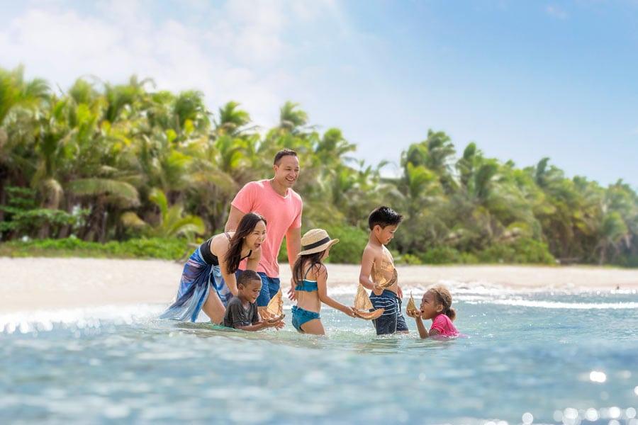 family in fiji image tourism fiji