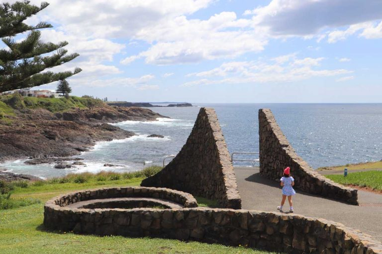 feature clean and green kiama little blowhole