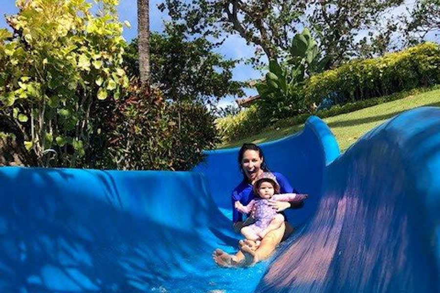 low res on the waterslide in bali