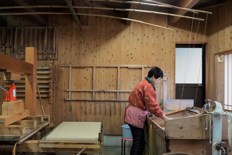 gifu prefecture mino washi paper making craft