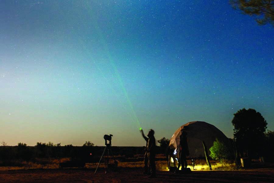 go stargazing at earth sanctuary. image tourism nt matt glastonbury