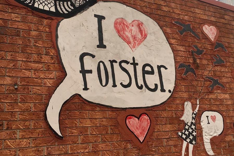 i love forster sign