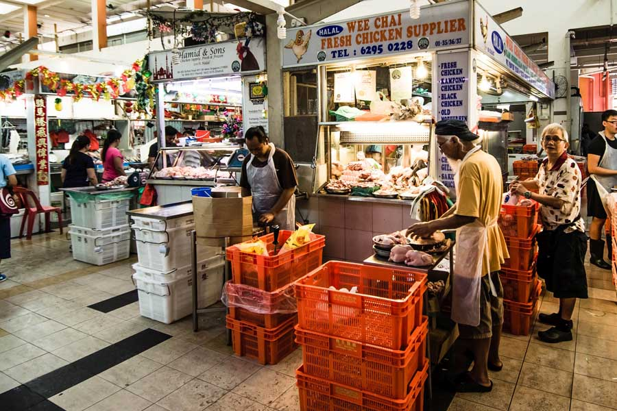 the little india wet market
