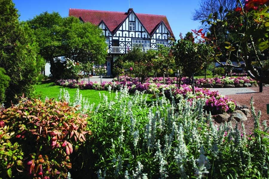 visit cockington green gardens. image visitcanberra