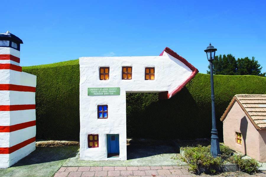 visit the model village at tasmazia. image tourism tasmania rob burnett