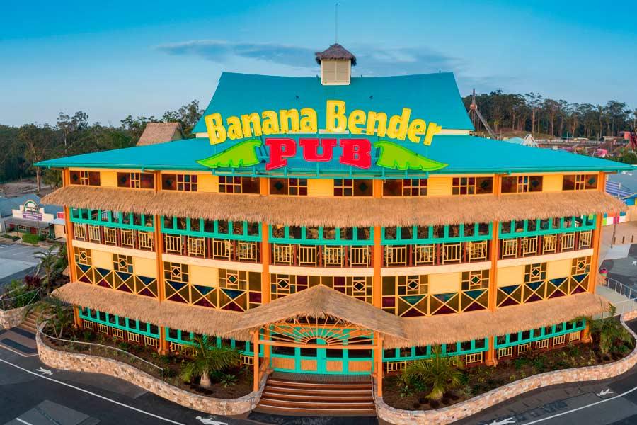aussie world sunshine coast banana bender pub