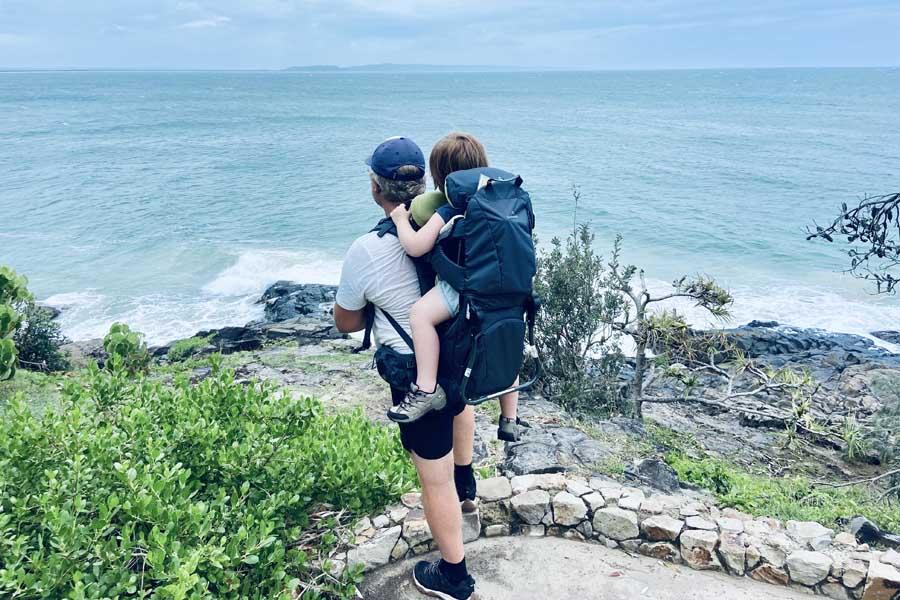 coastal views from noosa national park