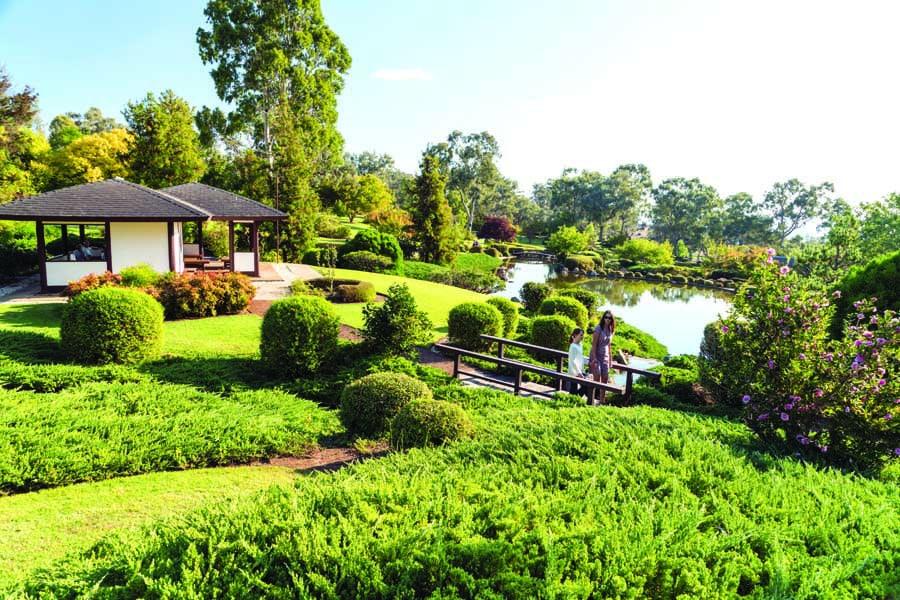 cowra japanese garden cultural centre australia. image destination nsw