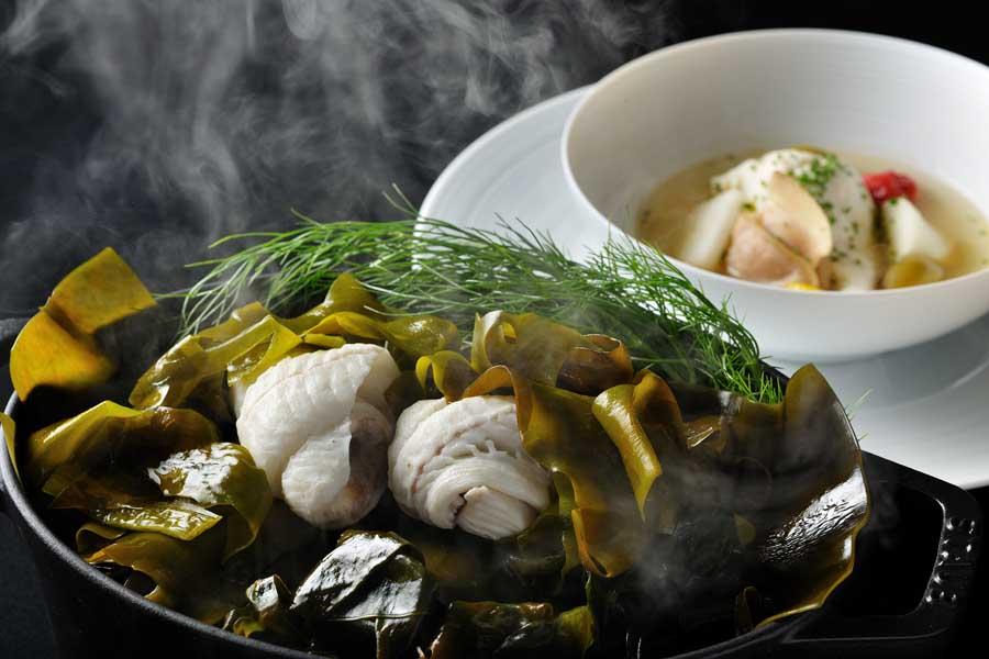 dining out at otto sette tomamu. image hoshino resorts tomamu