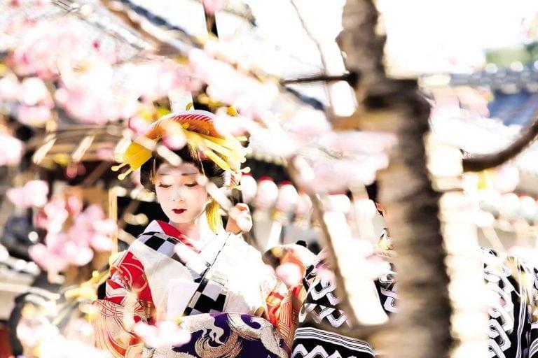 feature a geisha at edo wonderland nikko edomura
