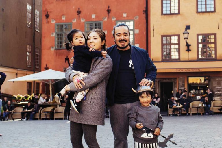 feature adam and his family in stockholm