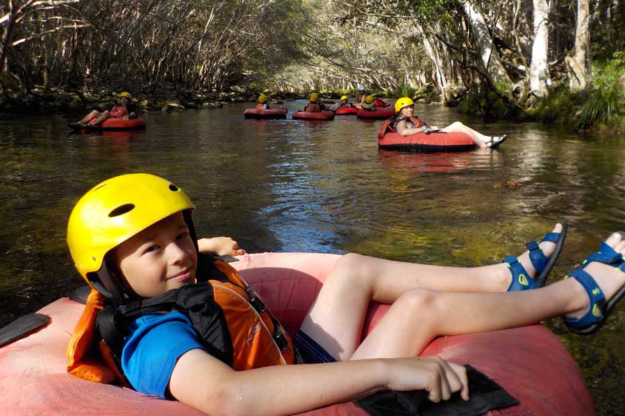 go tubing with cairns adventure group