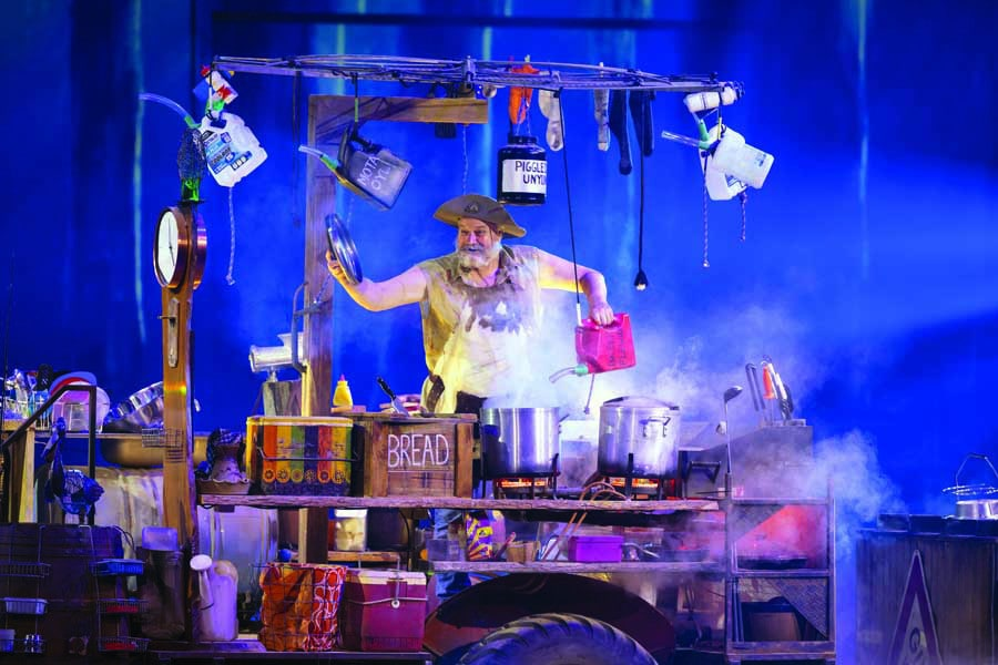 meet characters like bazza at the australian outback spectacular, a must visit Gold Coast theme park