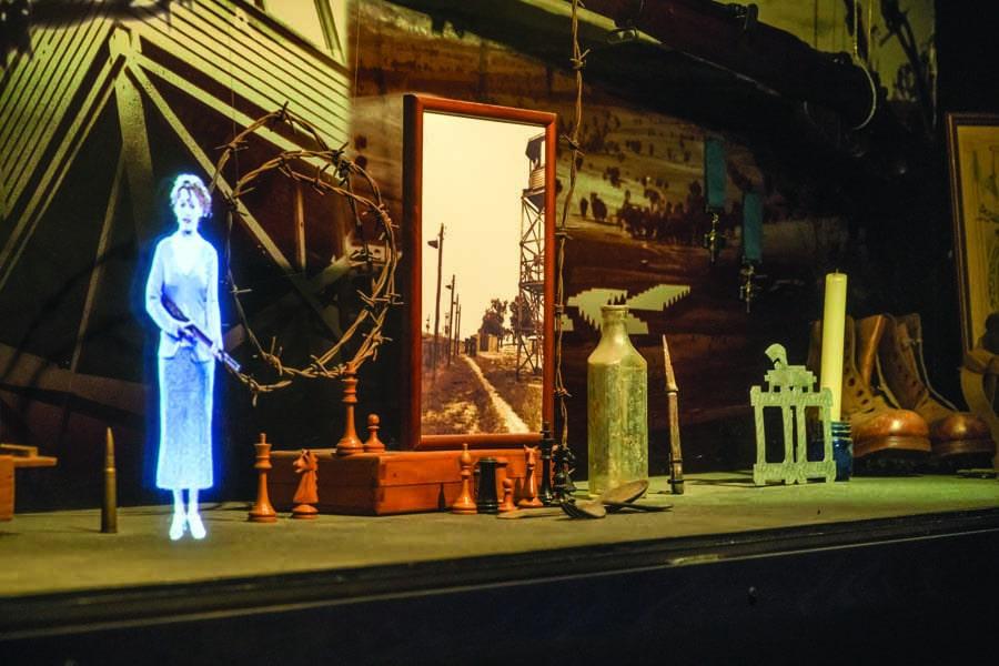 pow hologram theatre cowra. image destination nsw