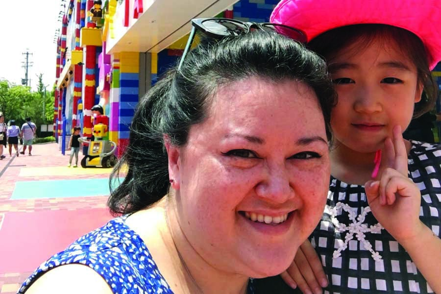 sally and lyann at legoland japan - - best places to visit in Japan with kids