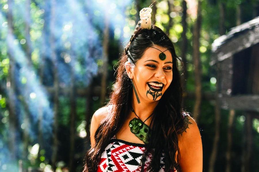 see a cultural performance at tamaki maori village, new zealand