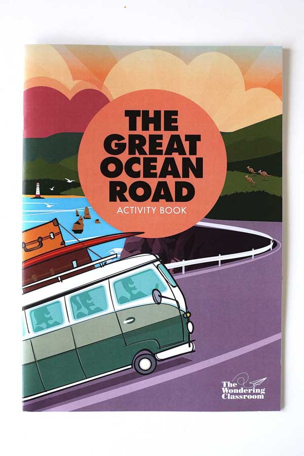 the great ocean road activity book by samantha kenna 1