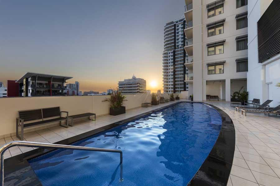 the pool at oaks elan darwin hotel - a family friendly hotel in australia
