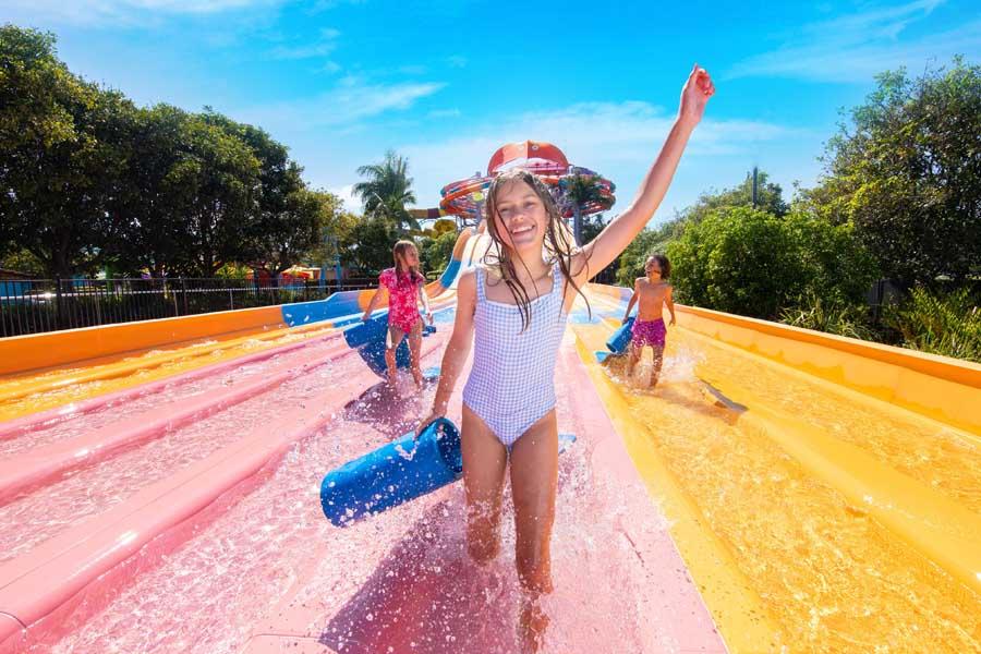 waterslide fun at dreamworld a must visit Gold Coast theme park