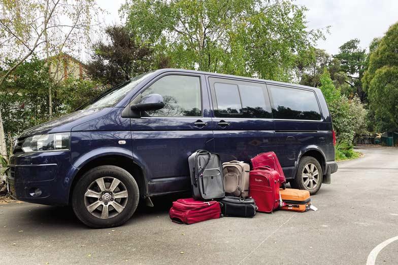 the familys vw van