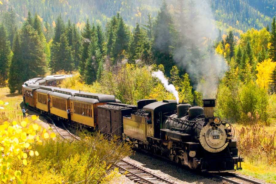 autumn on the durango silverton narrow gauge railroad credit yvonne lashmett