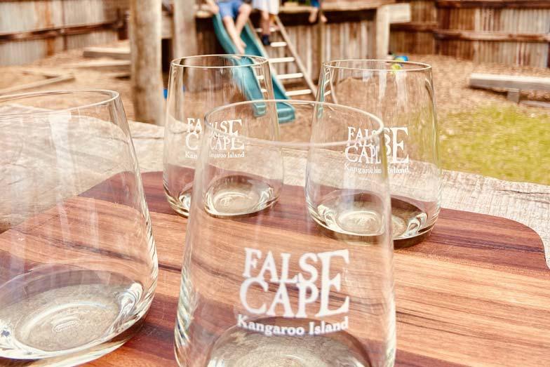 family friendly winery at false cape, Kangaroo Island
