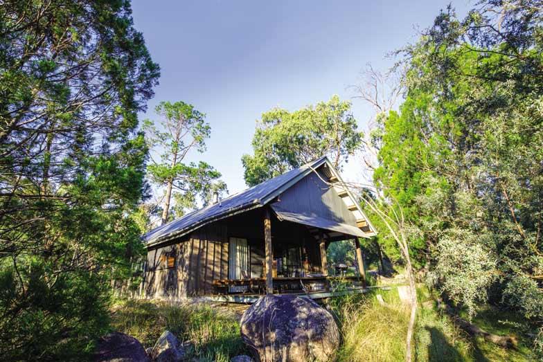 A cabin at Girraween Environment Lodge in Queenslands Granite Belt. Image Fiona Harper